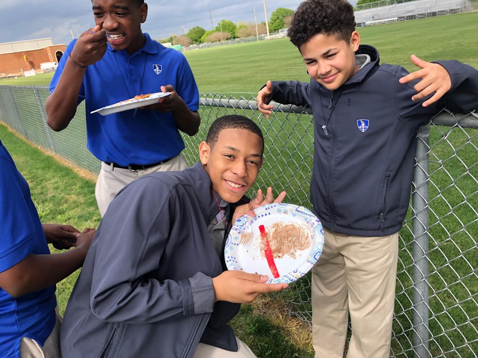 Montgomery Catholic Preparatory News Montgomery Catholic 7th Graders Celebrate Pi Day
