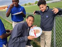 Montgomery Catholic 7th Graders Celebrate Pi Day 2