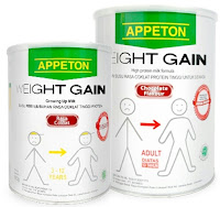 Harga Susu Appeton Weight Gain Terbaru Oktober-November 2015