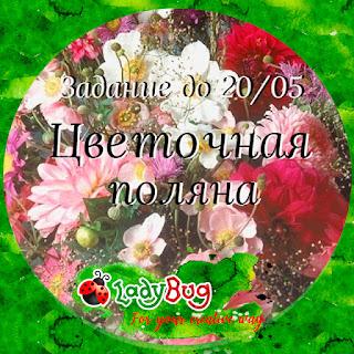 Цветущая поляна до 20 мая