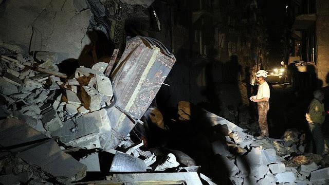 Rezim Suriah Kembali Lakukan Serangan Udara Tewaskan Warga Sipil di Homs