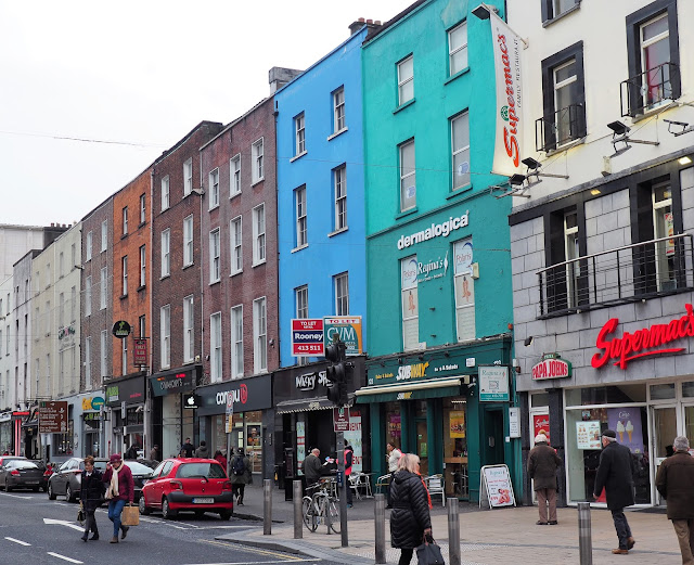 Limerick, värikkäät talot