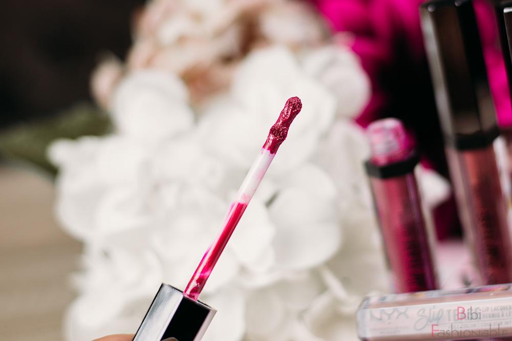 NYX Professional MakeUp Slip Tease Lip Laquer Applikator