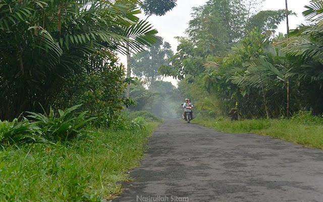 Suasana pagi di Desa Wisata Pancoh