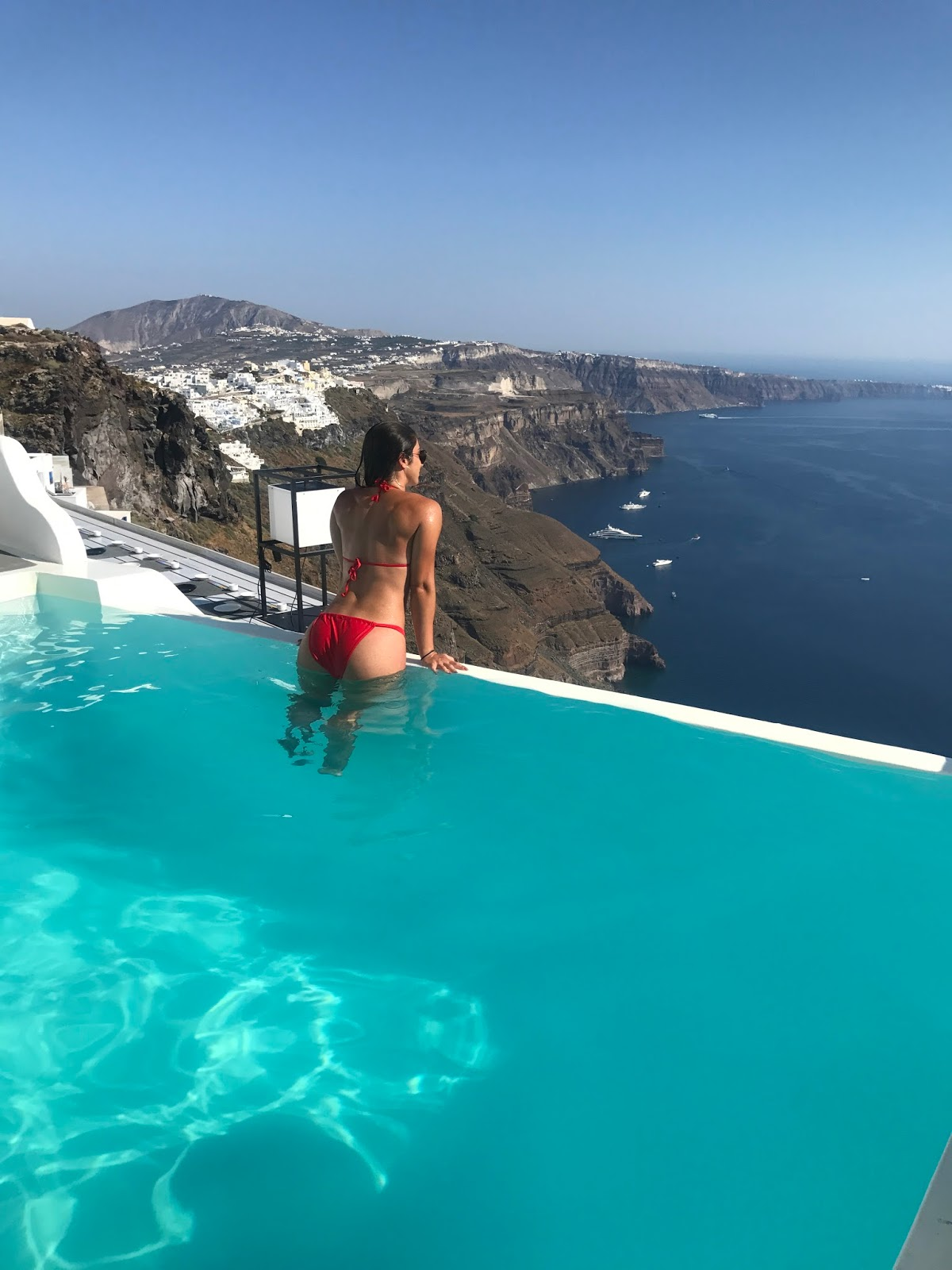 Infinity Pool Resorts Santorini