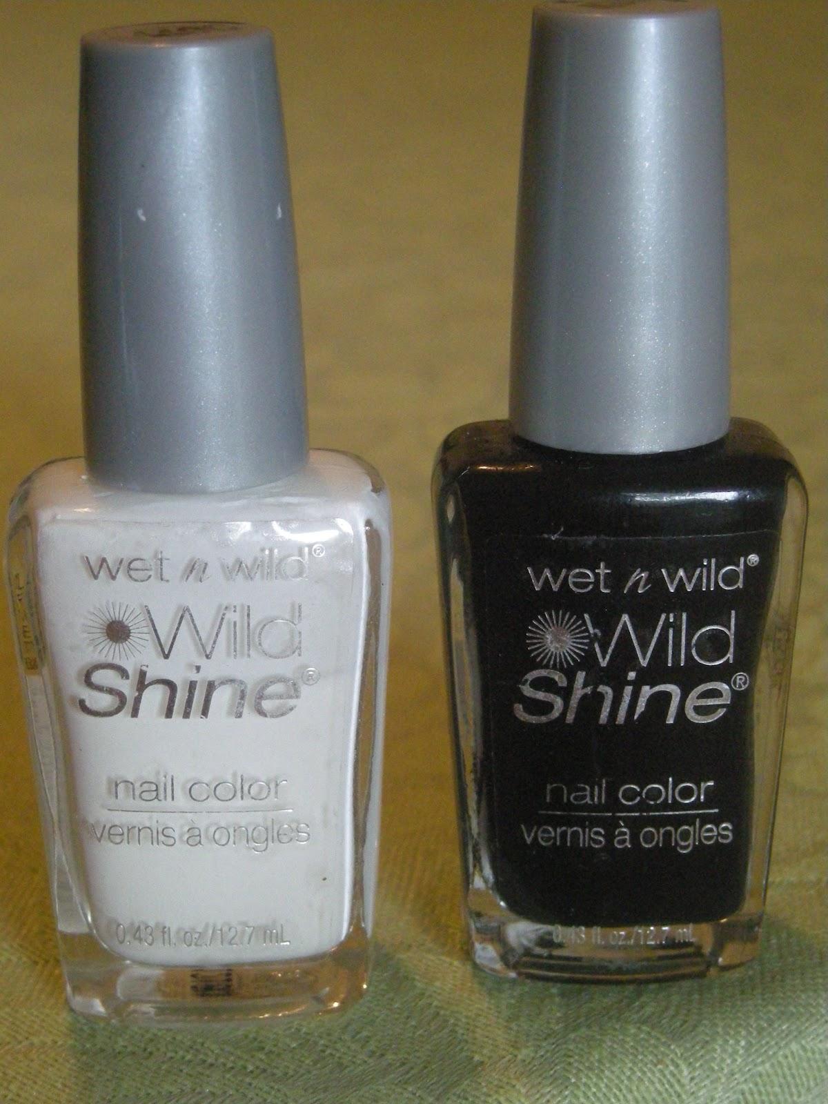31dc2012 Day 10 Gradient Nails: Polish Cart: 31DC2012 DAY 7: Black & White