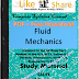Fluid Mechanics PDF Study Materials cum Notes, Engineering Civil E-Books Free Download
