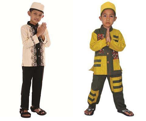pakaian muslim anak laki-laki
