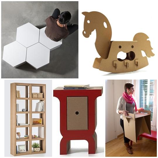 Revista digital apuntes de arquitectura nuevas alternativas de muebles en cart n ecolog a al d a - Muebles de carton ...