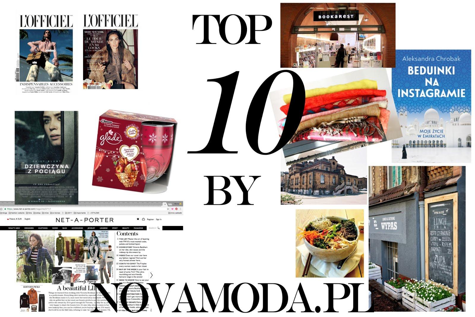 Top 10 by Novamoda: Pażdziernik