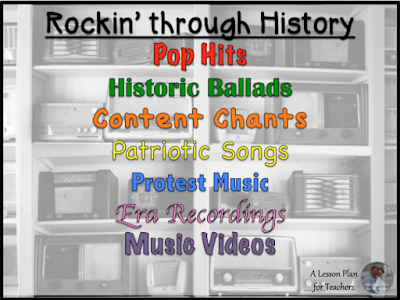 Read more for tips on using music in the Social Studies classroom