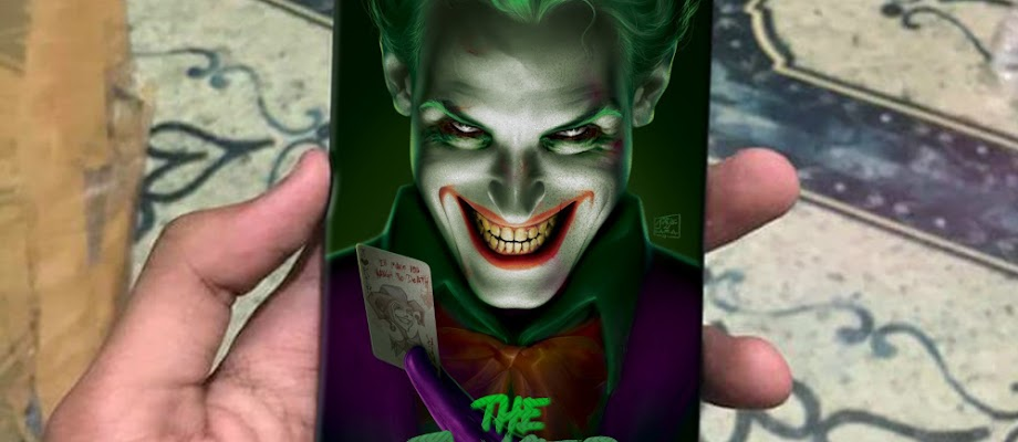 Mockup Case Iphone 7 The Joker