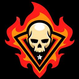logo tengkorak api