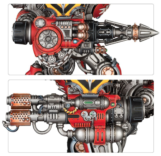 detalles comparativa Imperial Knight Valiant