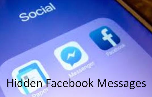 Hidden Facebook Messages