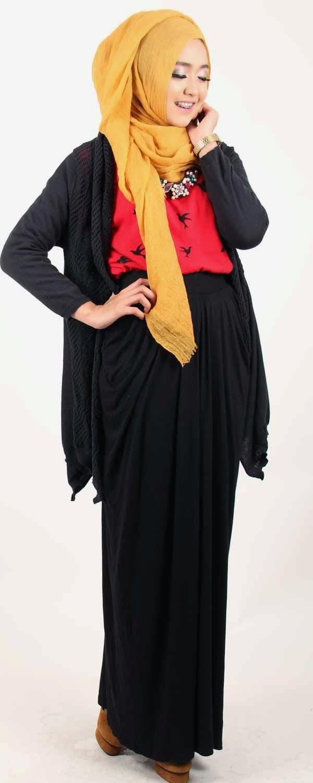 Model Baju Busana Muslim Dan Hijab Style Dini Djoemiko