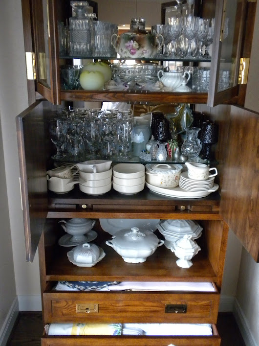 Getting Organized - Part IV of a Series (Tableware)