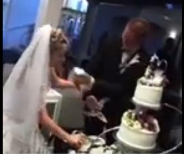 بسبب غباء العروسين حفل زفاف يتحول لكارثة لا تصدق !!
