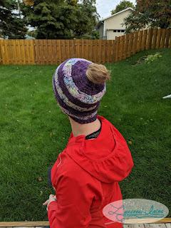 L'accroche laine - Tuque simple en brides