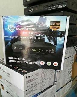 Receiver HD support Powevu,bisskey dan Tanberg V2  Getmecom HD5 ROBOCOP generasi terbaru dari dari Getme seperti Getmecom HD 009 New FTA sampai saat ini masih jadi pilihan pecinta Receiver Hd dengan harga terjangkau.Fitur dari Receiver Getmecom HD 5 Rbocop hampir sama dengan generasi pendahulunya seperti dibawah ini :  ■fully compliant with DVB-S2 reception ■Standart HDTV /SDTV mpeg 2 & Mpeg-4 H 264 decoding ■support 5761/576 p /720 p /1080i/1080p ■conveniet AUTO search function ■intellingent graphical user interface design ■capacity for storing up to 2000 transpoders and 5000 channels ■support DVB-S/S2 digital Tv singnal modulated in QPSK/8PSK. ■input frequency range 950 MHZ -2150 MHZ ■support Diseq1.0/Diseqc1.1/diseqc1.2/diseqc1.3 ■reception for SCOC/MCPC .c/ku band ■channel edit function including favorite ,move,delete lock ,skip,rename ■variable aspect ration 4:3full.16:9wide & screen 4:3 letter box or Auto modes ■double USB 2.0 port OTA sofware upgrade ■support USB2 PVR, mp3,avi,dat,mkv,mp4,mpg,vob,wma,bmp,jpg photo playback ■ Dapat langsung dipakai pada berbagai jenis parabola seperti parabola solid/mesh atau mini parabola ■Untuk internet tersedia 2 pilihan yaitu langsung via wifi atau menggunakan modem 3G (colok langsung)   Receiver Getmecom HD 5 Robocop gambar jernih,support Tanberg V2,Powervu dan Bisskey,pengoperasian mudah,harga sangat  bersahabat