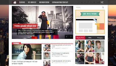 Fastnews Responsive Blogger Template Design