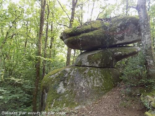 Les roches décalées