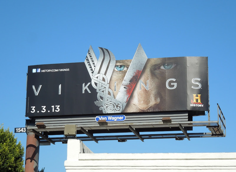 Vikings special extension History billboard