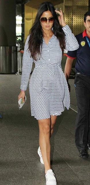 Spotted : Katrina Kaif in Alberto Torresi Sneakers