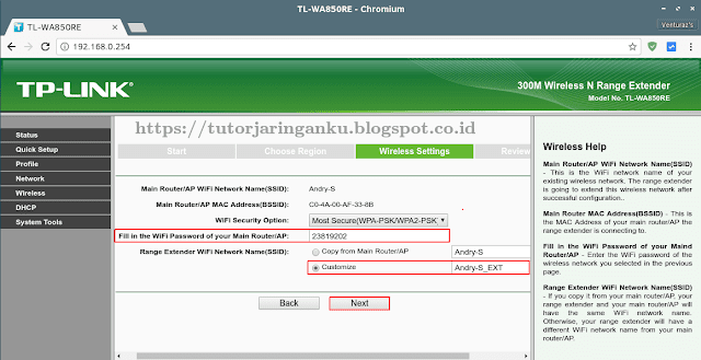 Tutorial Cara Setting Range Extender TP-LINK TL-WA850RE
