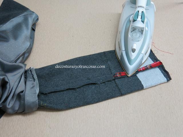 costuras planchadas