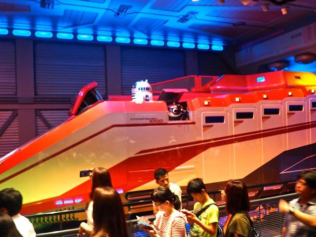 Star Tours, Tokyo Disneyland, Japan