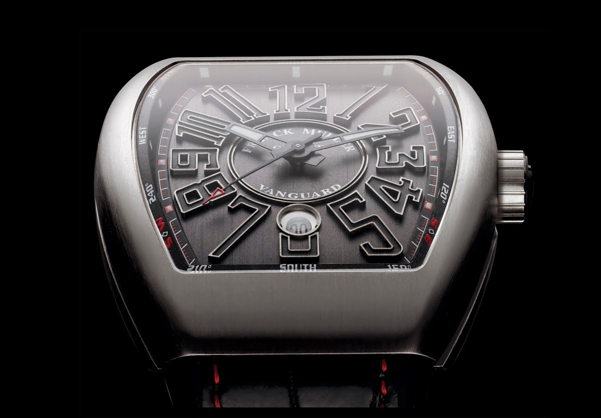 Franck muller vanguard ref v45scdt time and watches for Franck muller watches