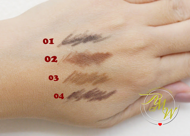 a swatch photo of Cathy Doll Sexy Eyebrow Pencils