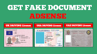How to get fake document for google adsense in Urdu Hindi