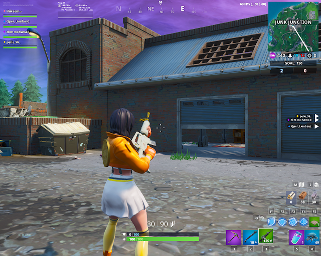 Found within Junk Junction FORTBYTE Mission #08