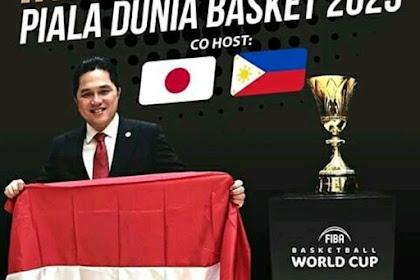 Uji Coba Timnas Basket Muda Indonesia