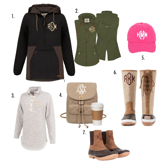 sweatshirt and duck boots and hat