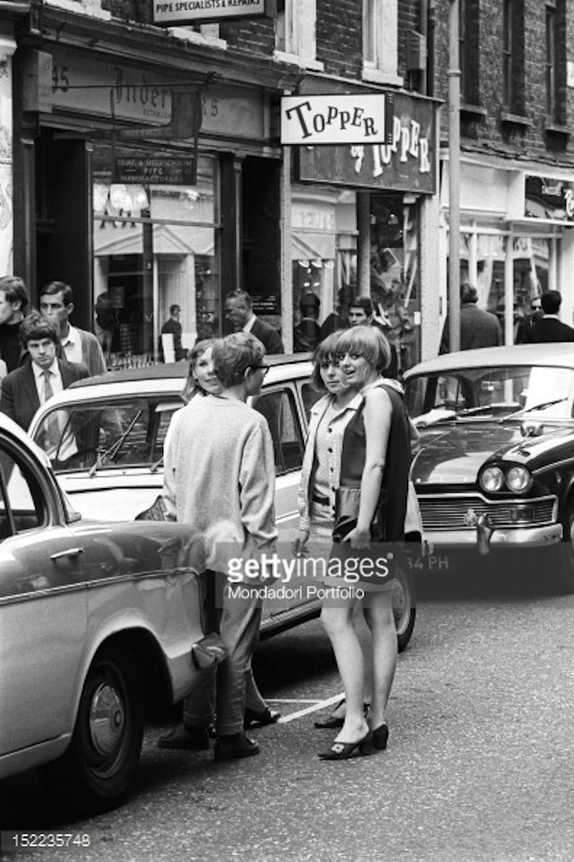 Topper Shoes Carnaby Street London 1960s