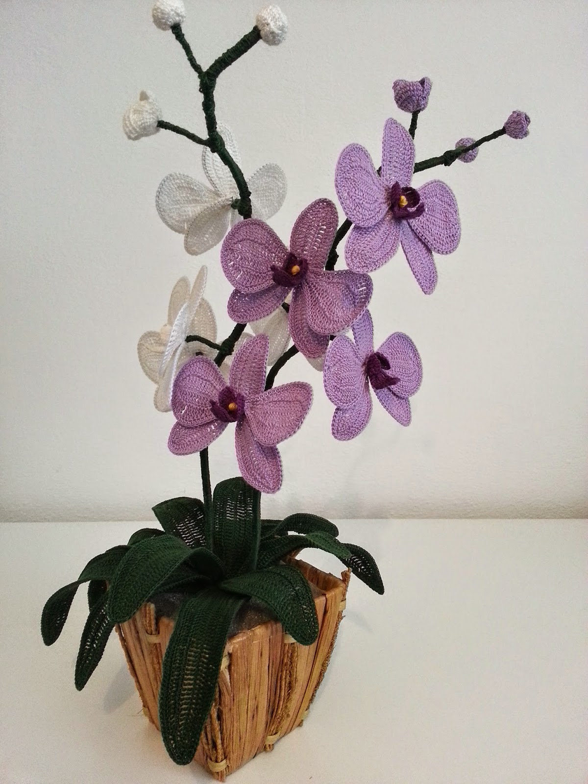 Il Blog Di Sam How To Crochet A Orchid