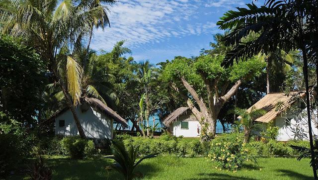 Vue coté Jardin du Jardin Maoré pour un séjour à Mayotte