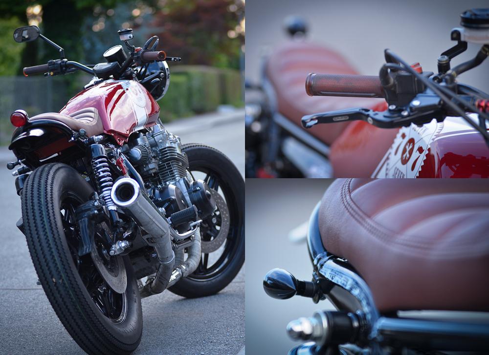 red sun cb7507seven custom ~ return of the cafe racers