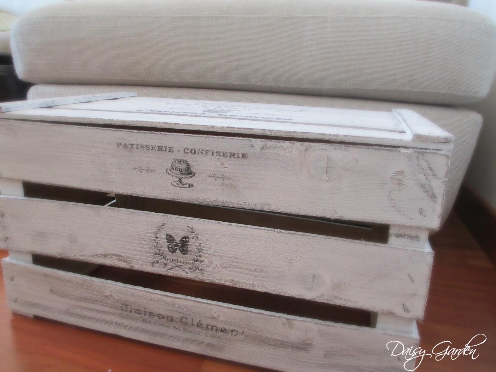 Cassette Della Frutta Legno daisy garden: diy cassetta di legno della frutta shabby chic