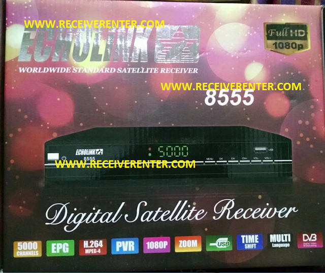 ECHOLINK 8555 HD RECEIVER AUTO ROLL POWERVU SOFTWARE