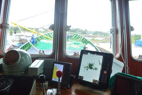 Tàu cá vỏ thép nghị định 67 đầu tiên của ngư dân Quảng Ngãi được bàn giao