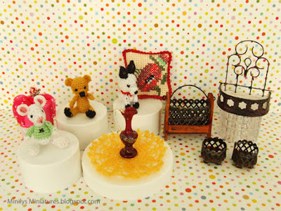 """minilys miniatures"" ""amigurumi"" ""pets"" 1:12"