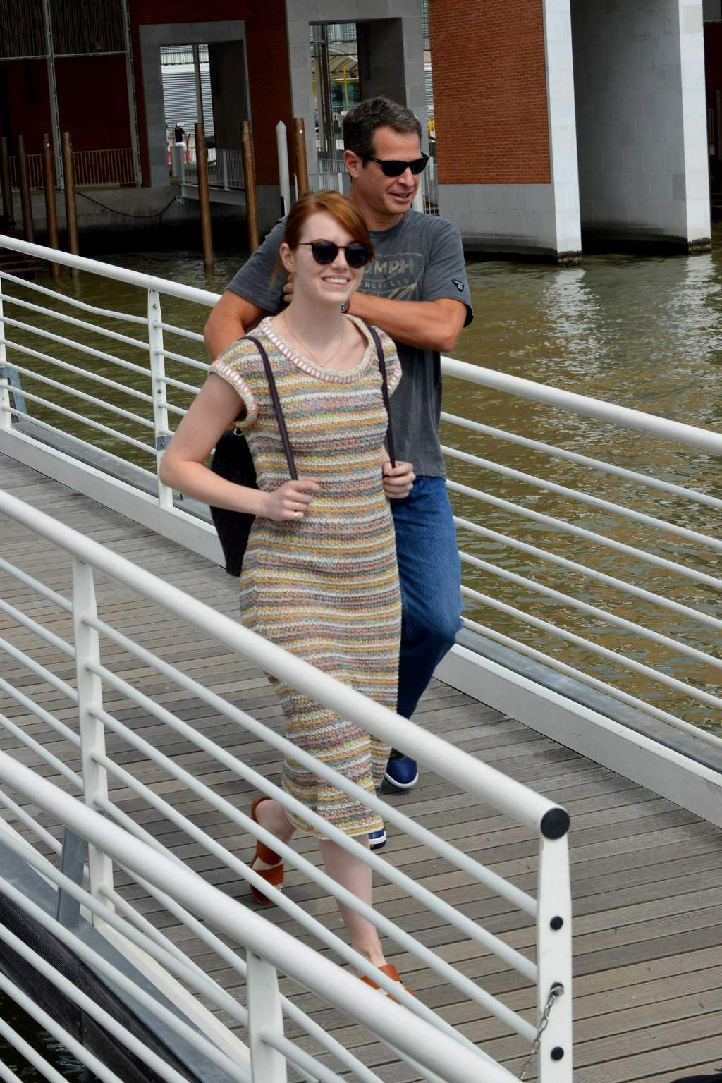 HQ Photos of Emma Stone – arrives at the Venice airport for the Venice Film Festival in Venice, Italy