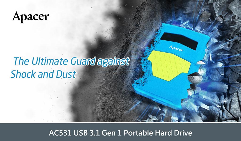 Apacer AC531 Portable Hard Drive