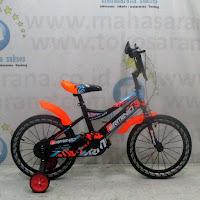 16 erminio 2503 bmx sepeda anak