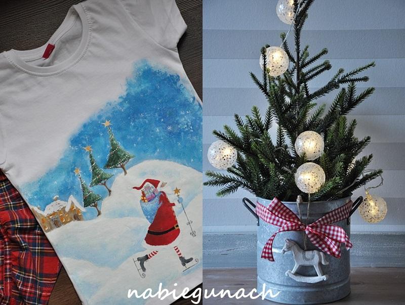 Św. Mikołaj roznosi prezenty