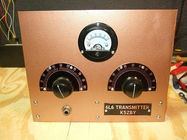 Ham Azing 6l6 Transmitter Part 4 Finished